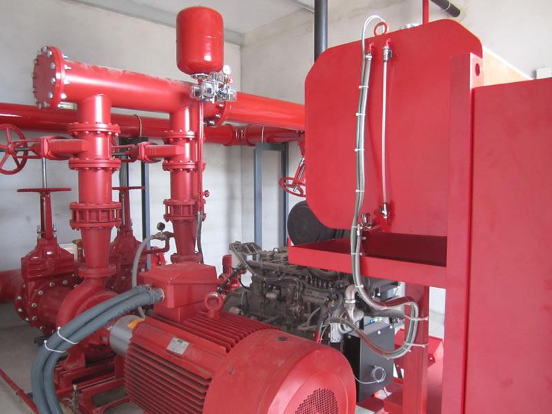 Sistemas abastecimiento de agua contra incendios